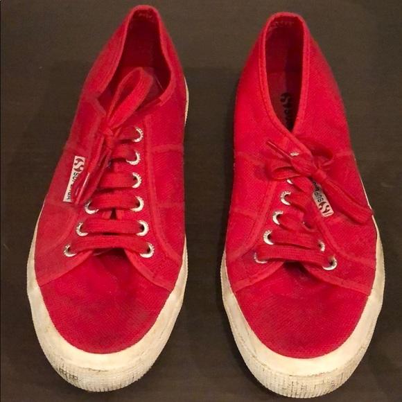 Superga Shoes - Red Supergas